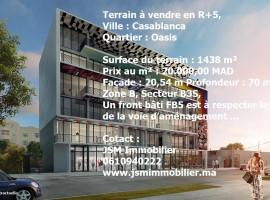 Terrain 1438 m² R+5 Oasis